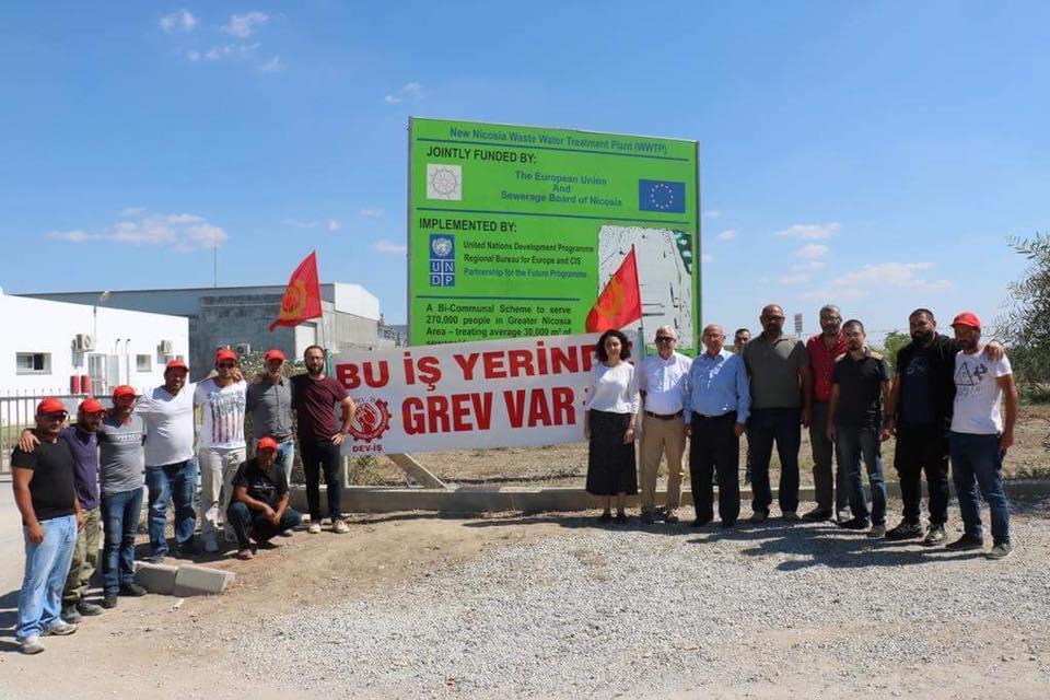 Toplumcu Demokrasi Partisi (TDP), Bağımsızlık Yolu ve Baraka Kültür Merkezi, Emek İş'in grevine destek belirtti