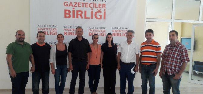 Kıbrıs Türk Gazeteciler Birliği yeni liderini seçti