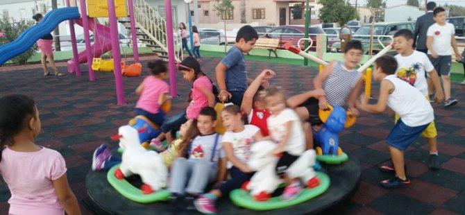 Yıldırım'lı çocuklar parklarına kavuştu!