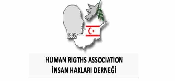 İnsan Hakları Derneği'nden meclis ve hükümete çağrı