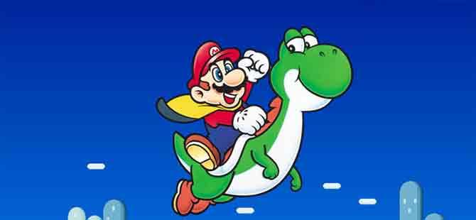 'Super Mario'nun sırrı!