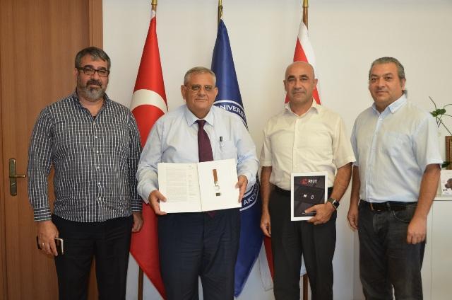 İlk Güvenli Elektronik İmzalar Doğu Akdeniz Üniversitesi'nde