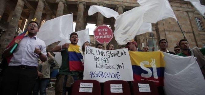 Kolombiya'da ateşkes ay sonuna kadar uzatıldı
