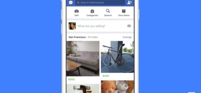 Facebook, eBay ve Amazon'a rakip oldu