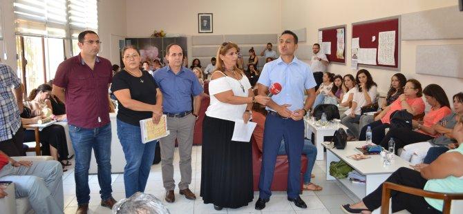 KTOEÖS NKL'de basın toplantısı yaptı