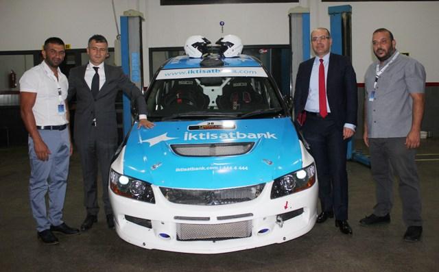 İktisatbank Rally Team'e motivasyon ziyareti