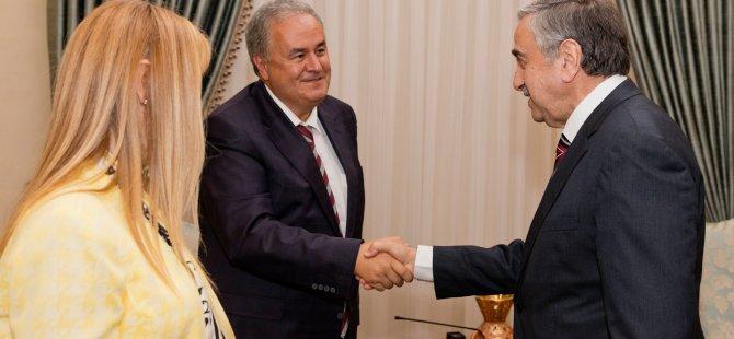 Cumhurbaşkanı Akıncı, ODTÜ heyetini kabul etti