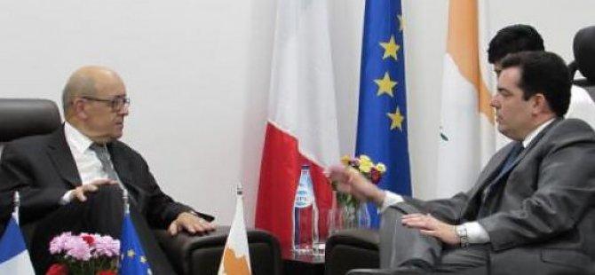 """""""Fransa Kıbrıs'ın savunma alanındaki ortaklarından biri """""""