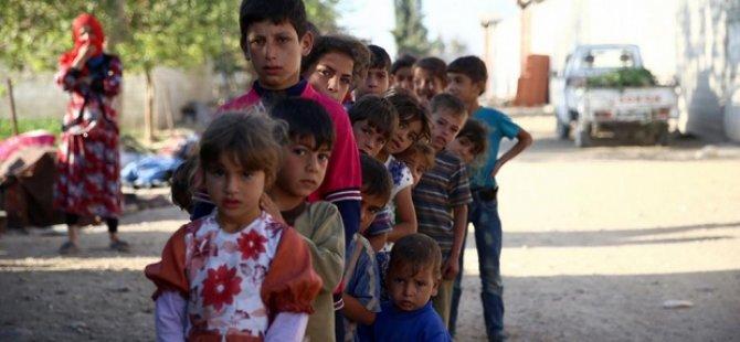 Suriyeli çocuklar için acil yardım çağrısı