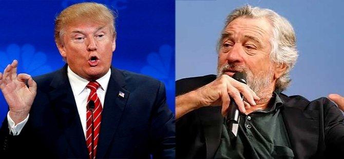Robert de Niro, Trump'a sert çıktı: O bir domuz, yüzüne yumruk atmak istiyorum!