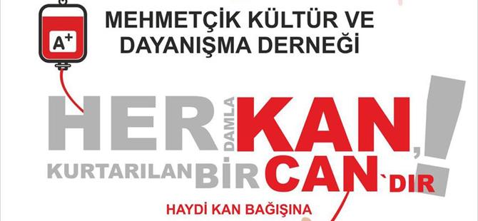 Mehmetçik'te kan bağışı kampanyası düzenleniyor