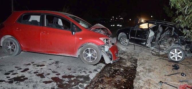 Aydınköy'de feci kaza! 1'i ağır 4 yaralı