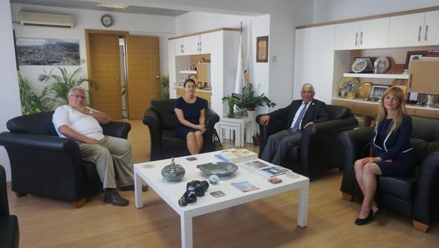 Rektör Baykal'dan Özçınar'a Nezaket Ziyareti