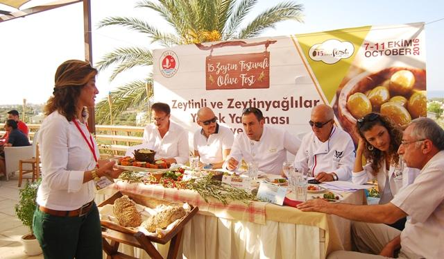 Festivalin Tadı Zeytin ve Zeytinyağlı lezzetler oldu