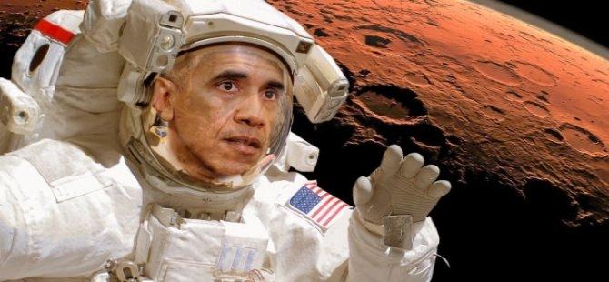 Obama'dan Mars açıklaması