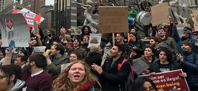 ABD'de protestoculara ait bilgiler polise servis ediliyor