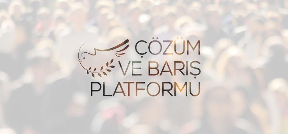 Çözüm ve Barış Platformu oluşturuldu