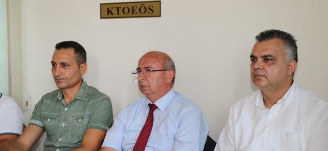 TDP ve KTOEÖS'dan Akıncı'ya müzakerelerde destek
