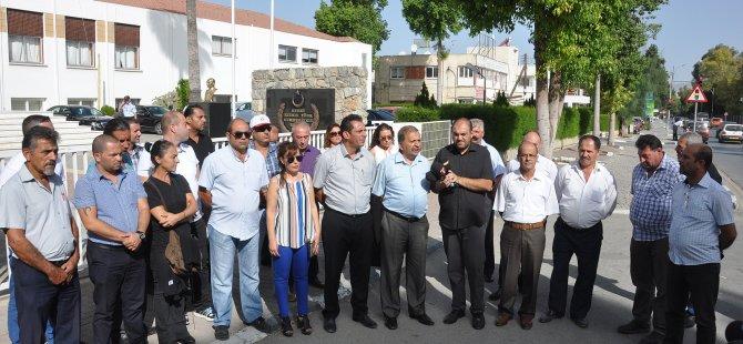 Eylemin 8. Günü Meclis önünde geçti