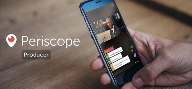 Periscope yayınları daha kaliteli olacak