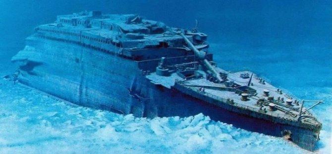 Titanik'in anahtarı satışa çıkarıldı