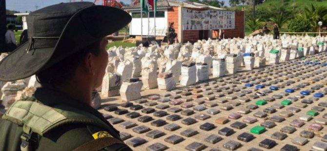 Panama'da 2,5 Ton Kokain Ele Geçirildi