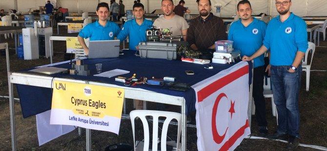 LAÜ, Uluslararası İnsansız Hava Aracı Yarışmasında 3'üncü oldu