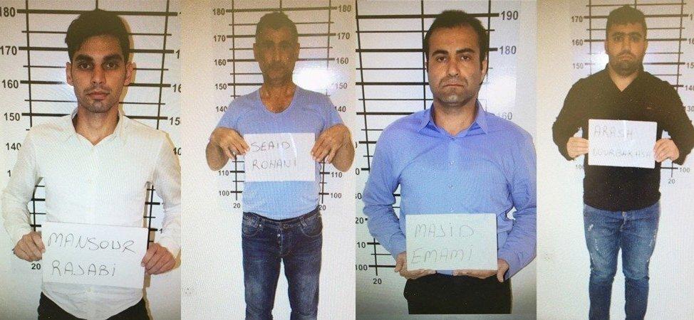 Hırsızlık zanlıları cezaevine gönderildi