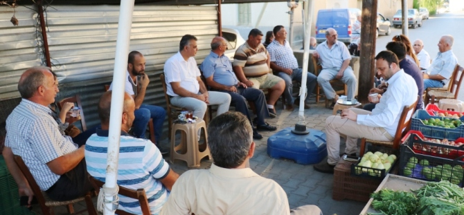 TDP Gaziveren ile Güneşköy'ü ziyaret etti
