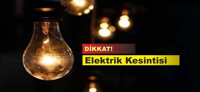 Girne'de 7 saatlik elektrik kesintisi
