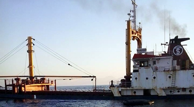 Antalya Açıklarında Gemi Battı