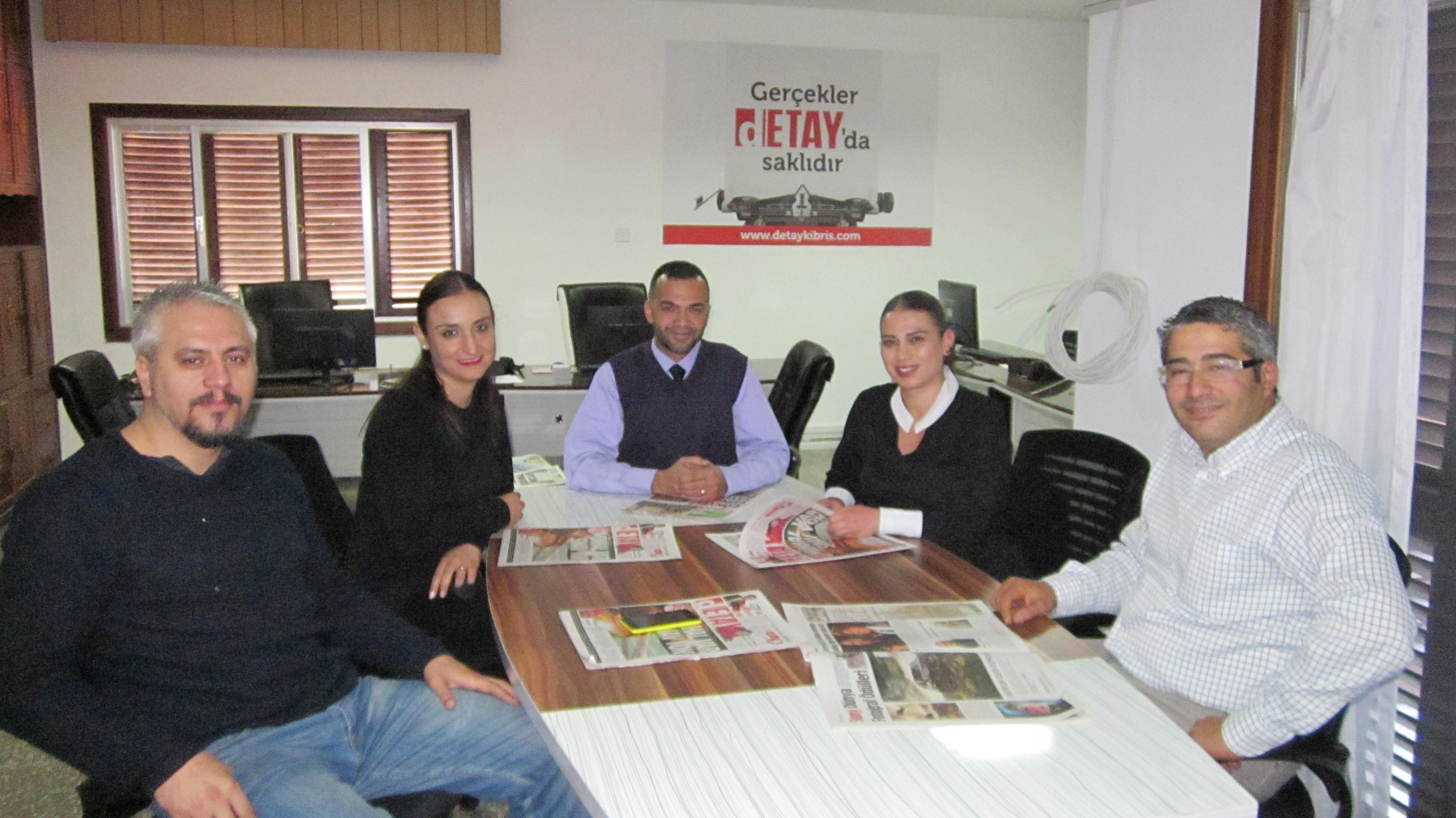 Sivil Savunma'dan Gazetemize Ziyaret