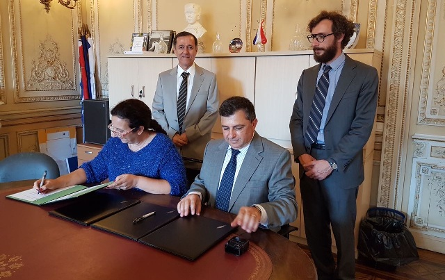 DAÜ ile Nice Sophia Antipolis Üniversitesi arasında işbirliği protokolü imzalandı