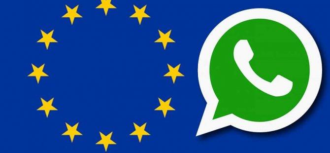 AB WhatsApp'ı uyardı!