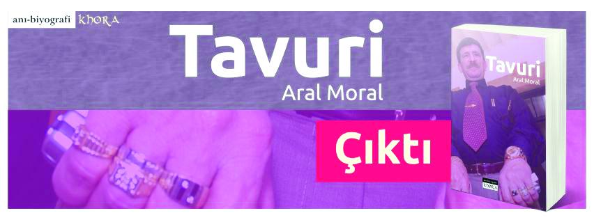 """Aral Moral'ın kitabı """"Tavuri"""" Khora Kitaplığında"""