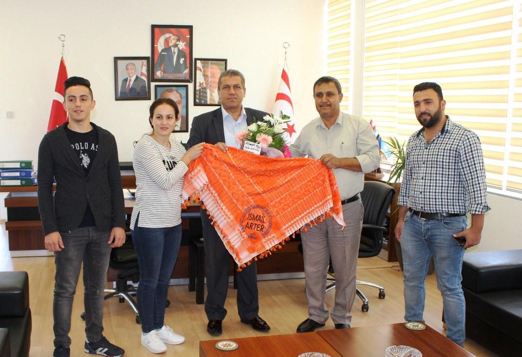 Arter, İzmir'den Yörük Derneği heyetini kabul etti