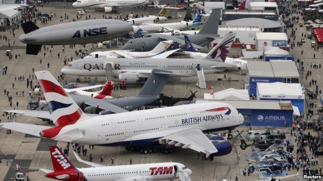 Uluslararası Havacılık ve Uzay Fuarı Kriz Dinlemedi