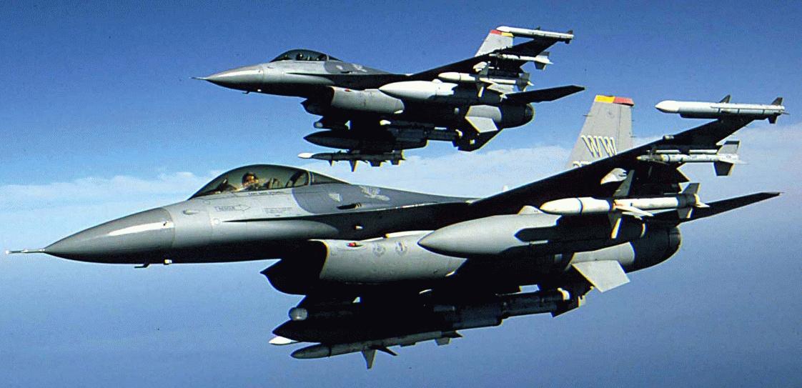 Türk F-16'ları 14 kez taciz edildi