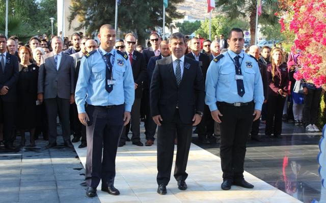 LAÜ'de Ulu Önder Atatürk anıldı