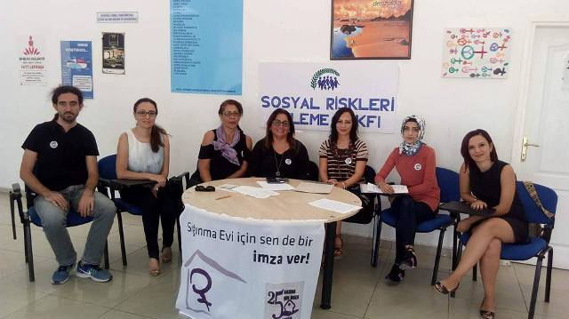 Sığınma Evi İmza Kampanyasında sona geliniyor