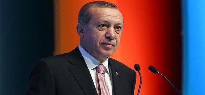 Erdoğan: Trump'ı ilk seyahatinin bize olması için davet ettim, olumlu yaklaştı