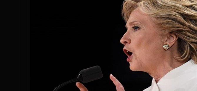 Hillary Clinton seçim yenilgisinden FBI soruşturmasını sorumlu tuttu