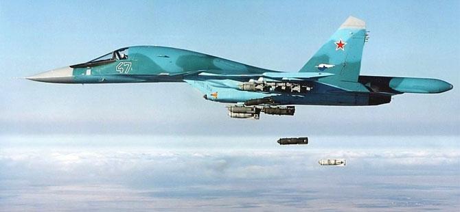 Rusya yine vurmaya başladı!
