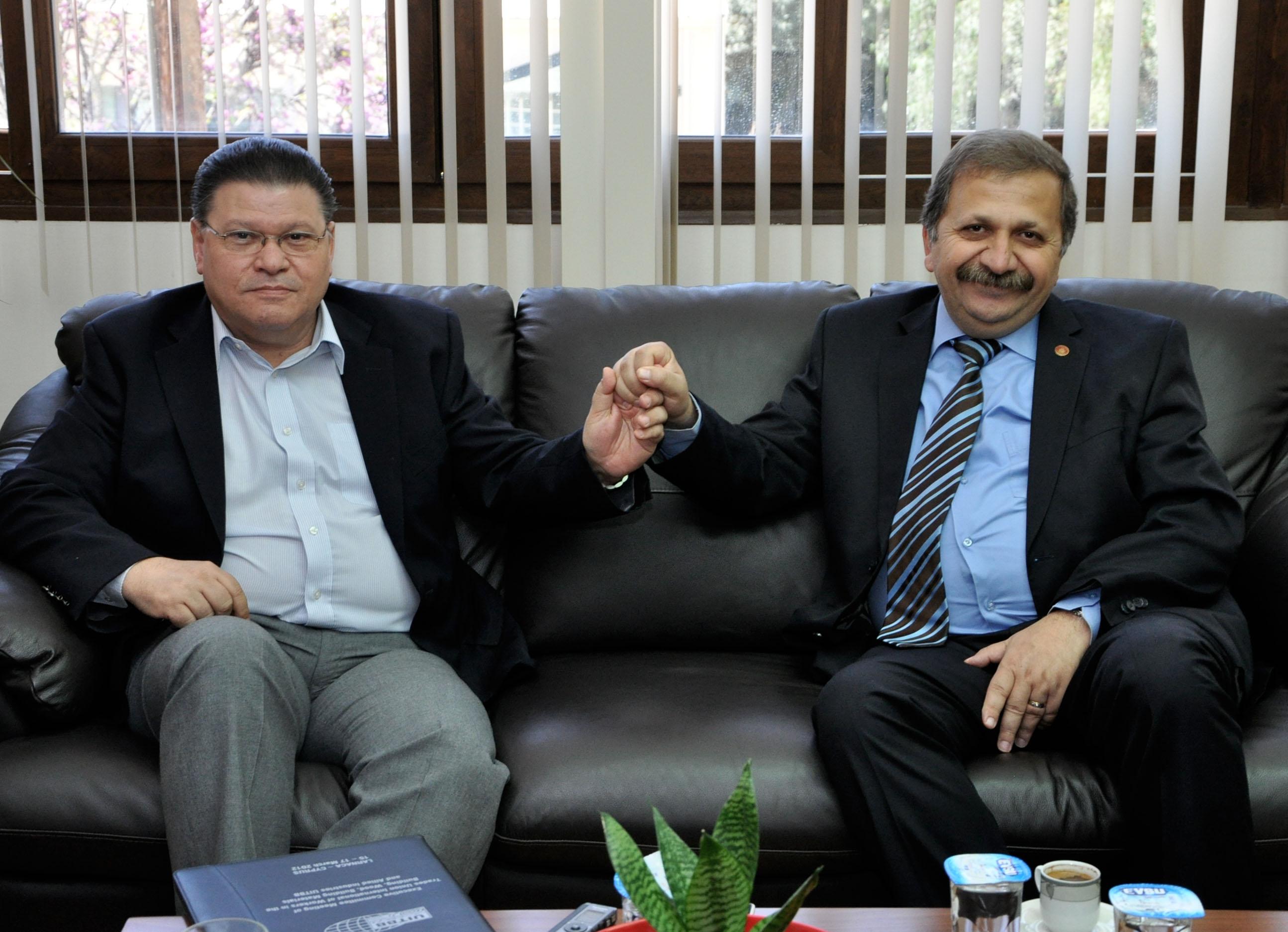PEO  Kıbrıs Türk sendikalarını ziyaret etti