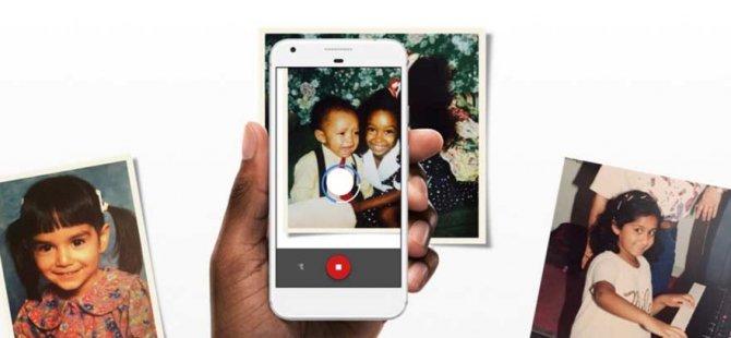 Eski fotoğraflarınızı artık cep telefonu ile dijital ortama aktarabileceksiniz!'