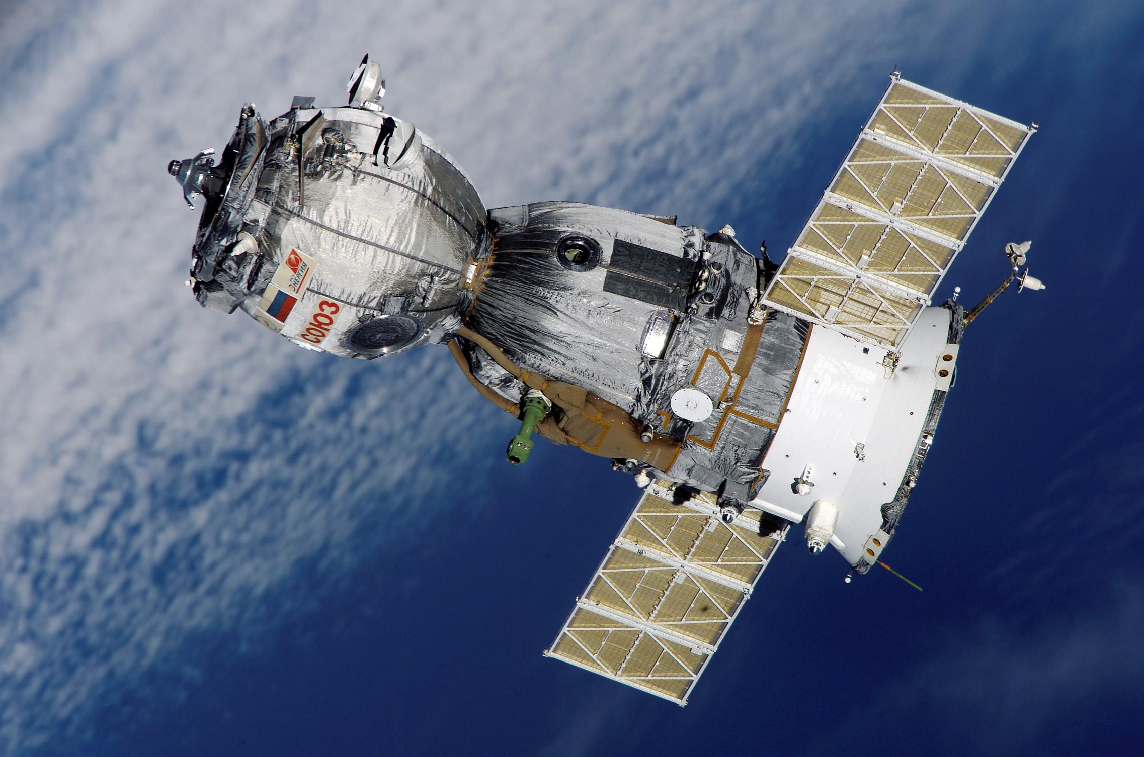 Soyuz kapsülü adresine ulaştı