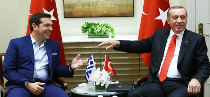 Çipras ve Erdoğan'ın gündemi Kıbrıs