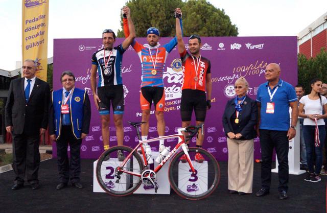 MGA Takımı'nın Bisikletçisi Mustafa Katip Şampiyon oldu