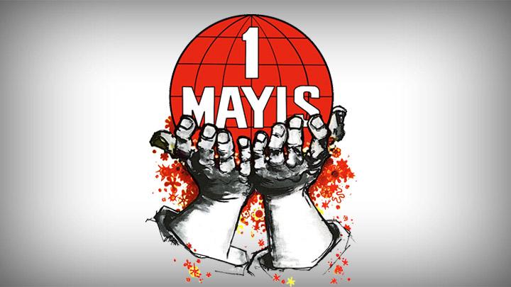 Kıbrıslı Türk ve Rum sendikalardan ortak 1 Mayıs mitingi