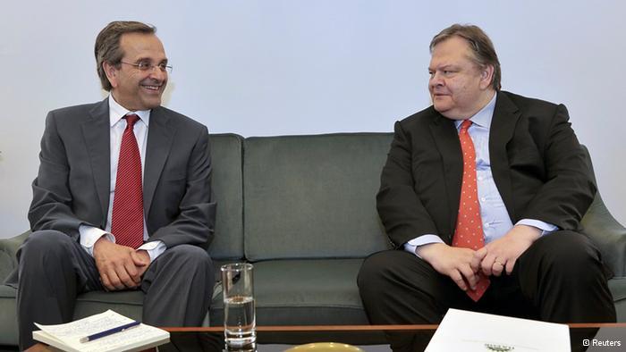 Yunanistan'da Yeni Koalisyon